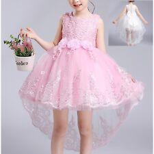 Vestito Bambina Cerimonia Compleanno Elegante Feste Party Girl Dress CDR042 P