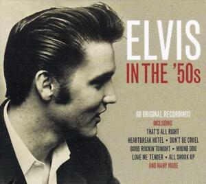 Elvis Presley In The '50s 1950s RED Vinyl 3 X LP VINYL 180g Gatefold Edition New