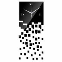 DIY Wall Clock Home Decor Living Room Quartz Watch Modern Luxury Acrylic Mirror