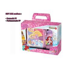 Set Principesse Disney Borraccia Portamerenda in Confezione - St51273