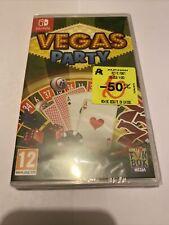 Game Nintendo Switch Pal Fr New Blister Vegas Party Casino Deck Poker Size