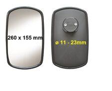 Spiegel passend für Deutz DX3.50SC & DX3.50V Traktor Schlepper 260x155 ø 11-23mm
