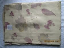 "Collectibles Linens & Textiles Vintage Fieldcrest Tablecloth 80""x 62"" Leaves New"