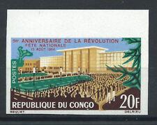 Congo N°169** (MNH) 1964 N. Dentelé - Fête nationale