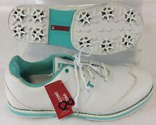 New True Linkswear Woman's  True Fairways Golf Shoes White Sea Foam 9 1/2