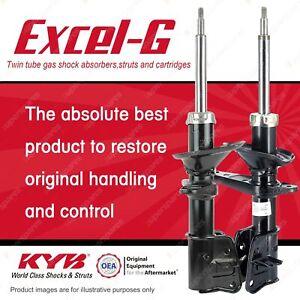 2 x Front KYB EXCEL-G Strut Shock Absorbers for LAND ROVER Freelander DT4 V6 4WD