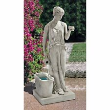 Ky2079 - Hebe, Goddess of Youth Garden Fountain w/Pump!