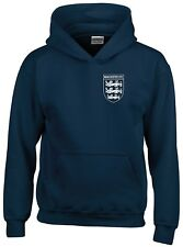 MANCHESTER UTD 3 LIONS CLUB AND COUNTRY SMALL CREST HOODIE MENS