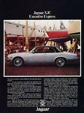 1976 Jaguar XJ6 XJC Coupe Original Advertisement Print Art Car Ad J860