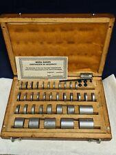 Spd Space Angle Block Set 36pc Meda Gage Gauge Round Cylinder Hardened 005 1