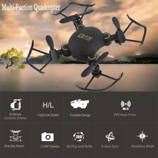 Mini Drone Q2 2.4ghz 4ch Foldable FPV RC Quadcopter With Camera 3d Fly Toys VP