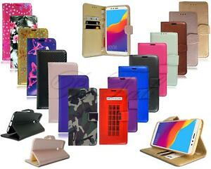 For Huawei Honor 10 Lite HRY-LX1 New Black Leather Book Wallet Stand Phone Case