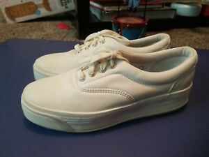 Keds Women's Leather Stretch Sneakers Size 6.5