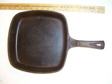 Cast Iron skillet, square, 1960's-70's