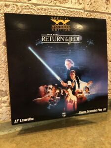 Star Wars: Return of the Jedi (1983) - Laserdisc LD - Special Widescreen Edition