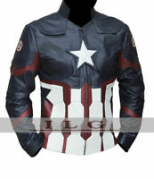 Marvel's Chris Evans Captain America Civil War Costume Leather Jacket
