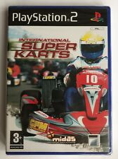 PS2 International Super Karts (2005), UK Pal, Brand New & Sony Factory Sealed