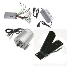 1800W 48V Brushless Electric Motor Speed Controller Charger Pedal Go Kart Buggy