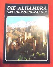 Die Alhambra Und Der Generalife , Ricardo Villa-Real , 1993 , TOP