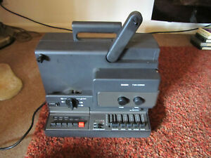 BAUER T510 SUPER 8 SOUND PROJECTOR 800FT CINE 8MM FILM STEREO PLEASE READ PARTS