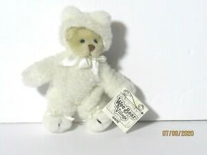 """Ganz Wee Bear Village Easter Wee Bear Plush HE2167 Stuffed Animal 6"""" With Tag"""