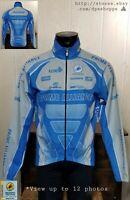 SQUADRA Team Windstopper Lightweight Reflective Cycling L/S Full Zip Jacket Sz L