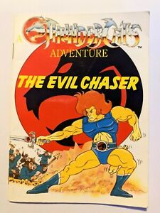 Vintage Thundercats Adventure book - The Evil Chaser (softcover)