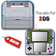 Original GAME BOY Classic Edition SKIN STICKER DECAL COVER #1 for Nintendo 2DS