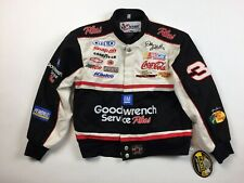NEW NASCAR Kids Jacket Large Dale Earnhardt GM Goodwrench Snap ON Goodyear K3-5