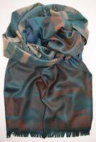 Herren Schal in angenehm tragbarer Viskose - weich und glatt - gedeckte Farben