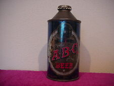 Abc Beer Cone Top Beer Can