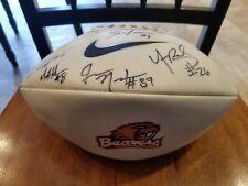 Signed 2005 Football Oregon State Beavers Matt Moore, Yvenson Bernard +..NFL OSU
