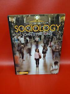 Sociology 15th Edition John J Macionis Good Condition ISBN 9780205985609
