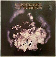 """VAN MORRISON HAND SIGNED 12"""" VINYL LP - ENLIGHTENMENT - PROOF 1."""