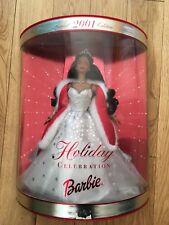 Celebración de Barbie Edición Especial 2001 vacaciones HALLMARK MATTEL en muy buena condición sin abrir