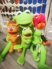Full Body Kermit the Frog Hand Puppet Plush Toy CLIP ON ANIMAL FOZZIE BEAR