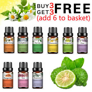 10ml Undiluted Pure Aromatherapy Essential Oils Organic Essential Oil Fragrances