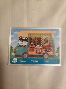 Tasha Welcome Amiibo Card (Never Used) NM