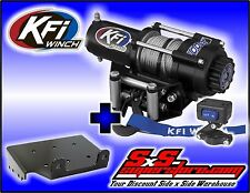 2500 lb KFI Winch Mount Combo -Suzuki Eiger 400 and Vinson 500 2002-2007