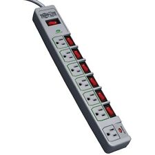 Tripp Lite 7 Outlet (6 Individually Controlled) Surge Protector Power Strip