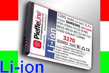 Battery for Samsung b5722 i8510 Innov 8 Series ab474350bu Li-ion 1200 mah