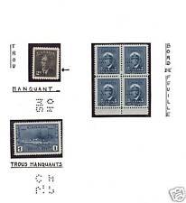 Canada #O285 #O255 #O262 Variety Mint Lot