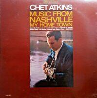 Chet Atkins ~ Music from Nashville 1966 LP Vinyl Record Country Album CAS-981