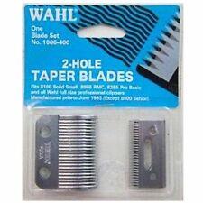 Wahl 2-hole Taper Blades Blade Set Wa1006-400 Icon Sterling 4 Super Clipper 2000