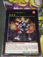 OCCASION Carte Yu Gi Oh IGNIS LAVALVAL HA06-DE051 ALLEMAND
