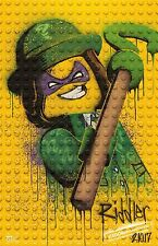 The Lego Batman Movie poster (i)  : 11 x 17 inches (Riddler) Lego movie poster