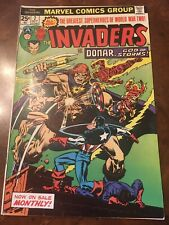 Marvel The Invaders #2 comic book bronze age