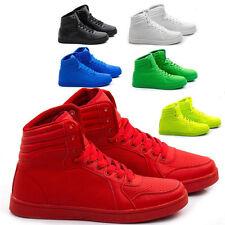 Scarpe Uomo Sneakers Pelle PU Stivali Francesine Mocassini Ginnastica Anfibi S25