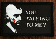 Taxi Driver You Talking to Me ? Morale Patch Tactical ARMY Hook Military USA