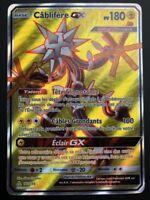 Carte Pokemon CABLIFERE 142/156 Full Art GX Soleil et Lune 5 SL5 FR NEUF
